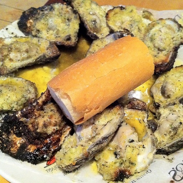Dragos Original Charbroiled Oysters @ Drago's Seafood Restaurant