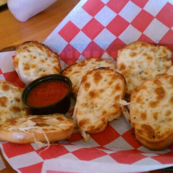 Garlic Cheese Bread @ Oregano's