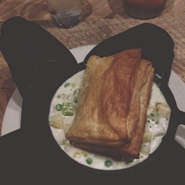 Chicken Pot Pie With Crispy Puff Pastry Topping @ Public Zeeland, Mi