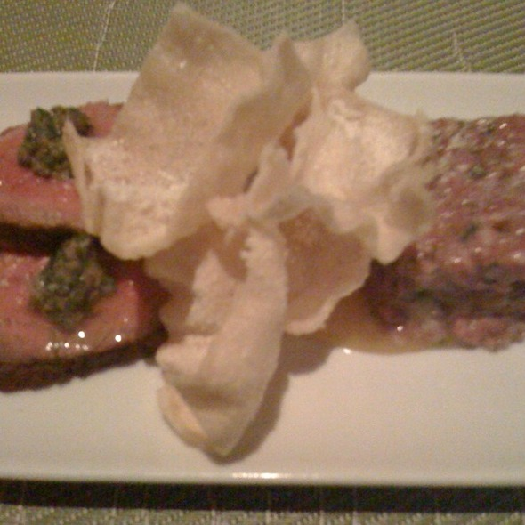 Hot And Cold Beef @ Spring Hill Restaurant & Bar