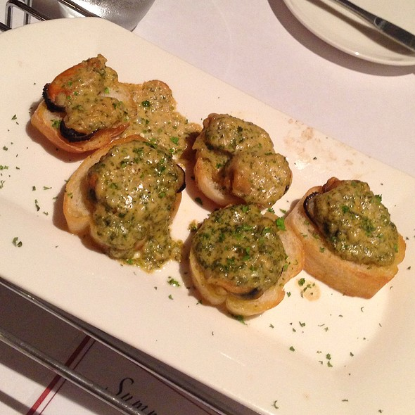Mussels On Toast @ L'Entrecôte