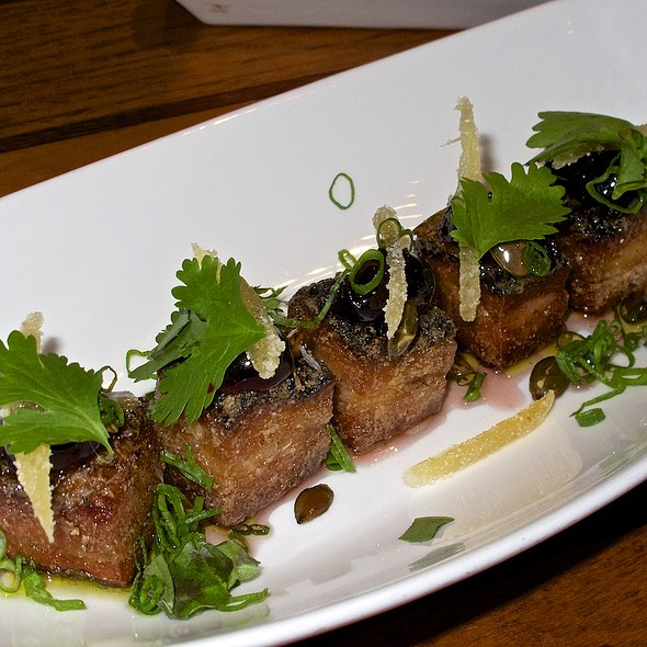 Crispy Pork Belly @ Departure Restaurant & Lounge