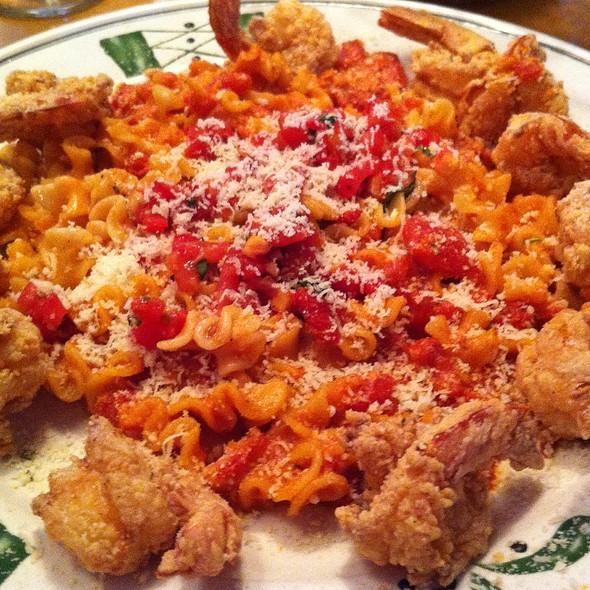 Parmesan Crusted Shrimp At Olive Garden