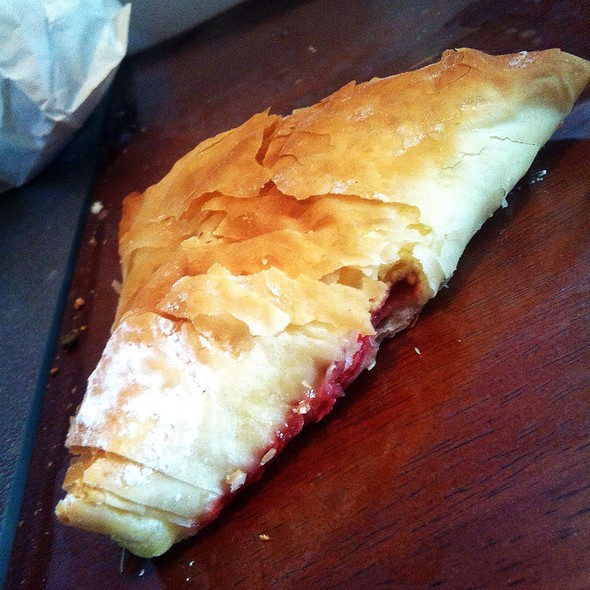 Cherry Cheese Turnover @ nougat bakery and delicatessen