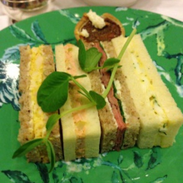 Tea Sandwiches - Victoria's Restaurant @ The King Edward Hotel, Toronto, ON