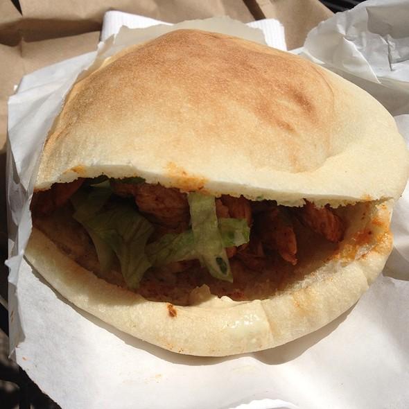 Chicken Shawarma Sandwich @ Yafa Cafe