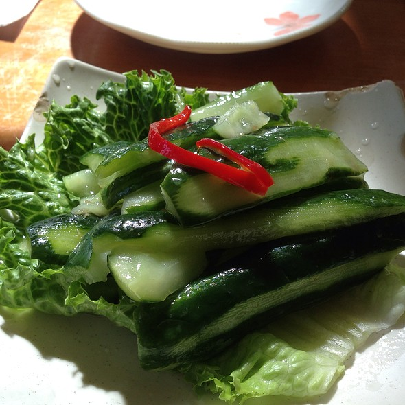 Pickled Cucumber @ Taste of Formosa