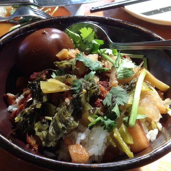 Braised Pork Belly Over Rice @ Taste of Formosa