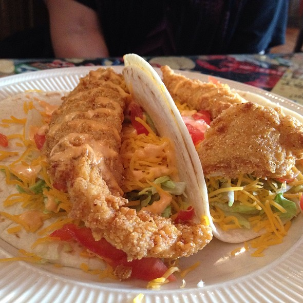 Fried Fish Tacos - Washington Platform Saloon & Restaurant, Cincinnati, OH