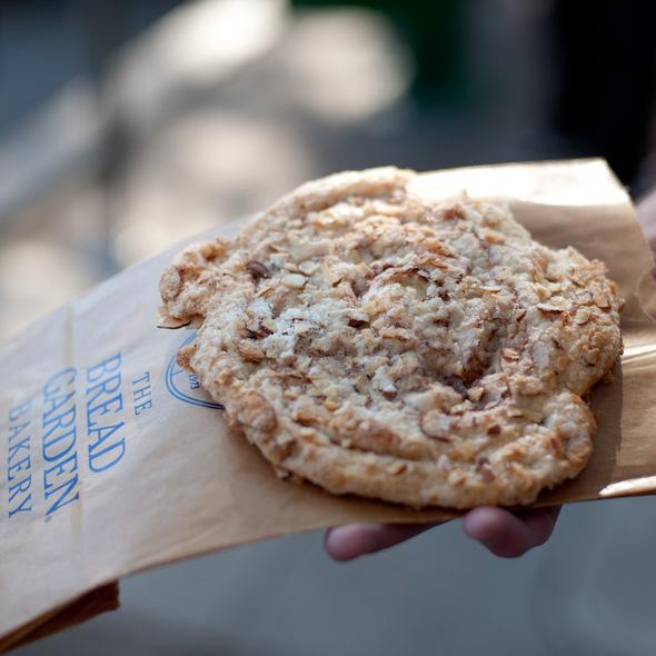 Almond Crisp @ Bread Garden Bakery