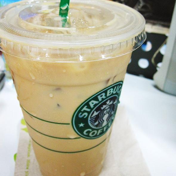 Starbucks Coffee (The Esplanade) - Iced Hazelnut Latte - Foodspotting