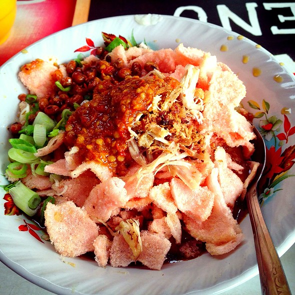 Bubur Ayam With Condiment @ Bubur Ayam Cirebon Bang Yon