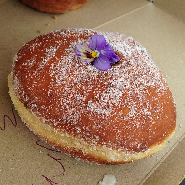 Chocolate Molten Lava @ Sidecar Doughnuts & Coffee