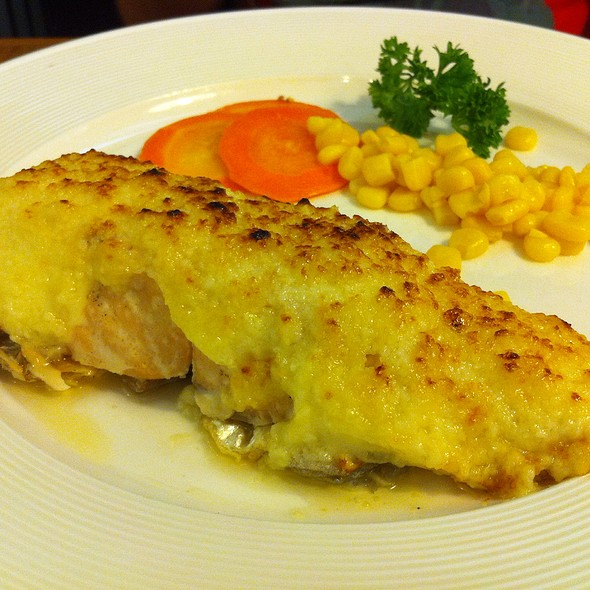 Baked Salmon @ Conti's Pastry Shop and Restaurant