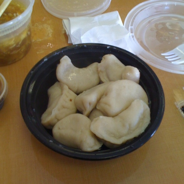 Steamed Dumplings @ Eastern Carryout