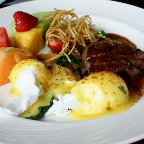 Steak Tenderloin And Eggs - Miller Tavern, Toronto, ON