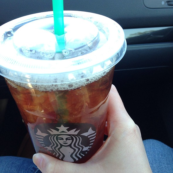 Unsweetened Black Tea @ Starbucks