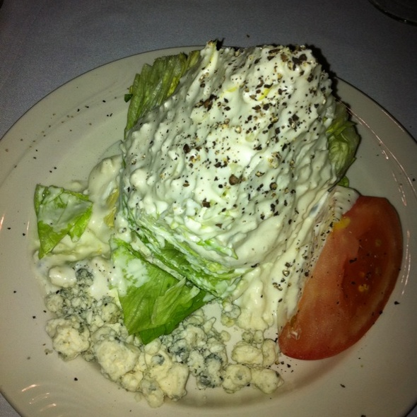 Wedge Salad w/ Blue Cheese @ Sonny Williams' Steak Room