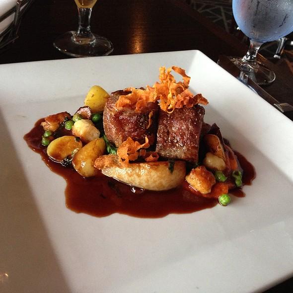 Lamb Loin - Six Seven Restaurant & Lounge, Seattle, WA
