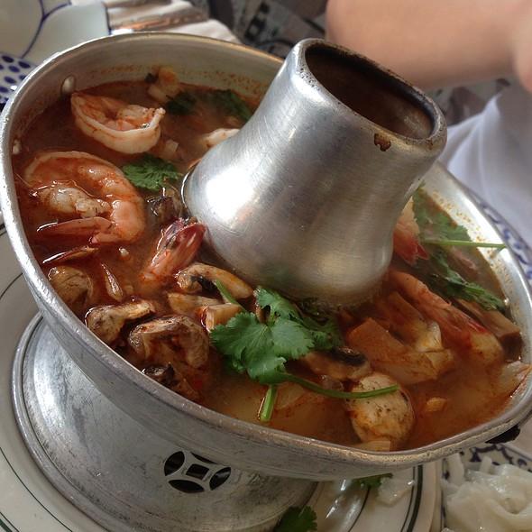 tom yum gai @ Thai Satay Restaurant