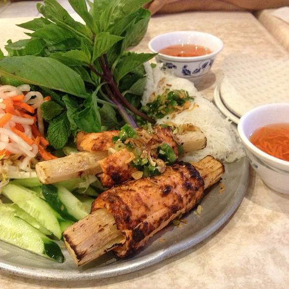 Chao Tom-Shrimp Roll With Sugar Cane at Pho 1 Vietnamese Restaurant