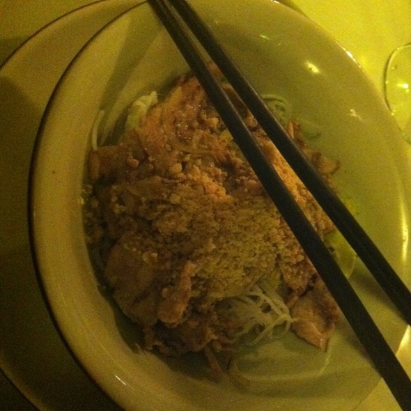 Bun Heo Nuong (rice Vermicelli Noodles With Grilled Pork) @ Thien Kim