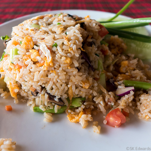 Vegetable Fried Rice @ Pak Nam Seafood