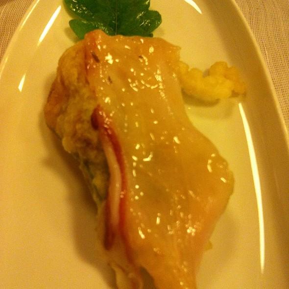 Zucchini With Colonnata Lardo @ Locanda Sant'Agata