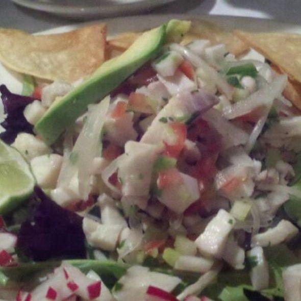 Ceviche @ Cafe Tacuba