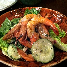 Grilled Shrimp Salad - Rappahannock, Richmond, VA