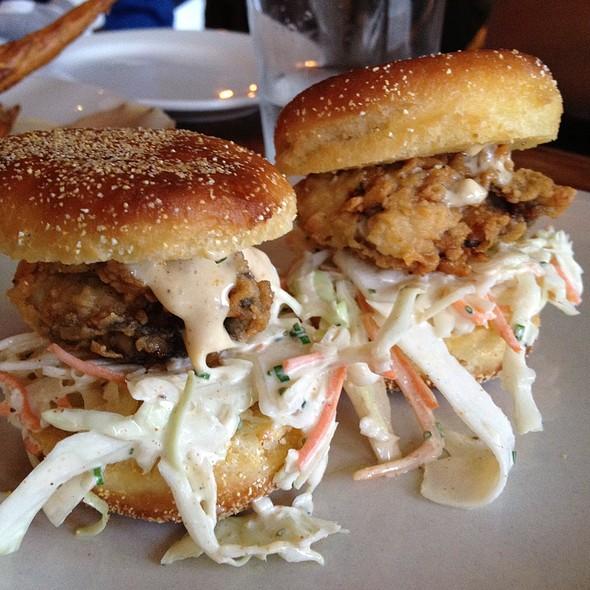 Fried Oyster Po'Boy @ Hartsyard