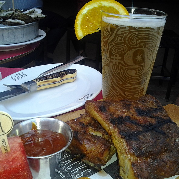 Charcoaled Ribs - Racks Downtown Eatery + Tavern, Boca Raton, FL