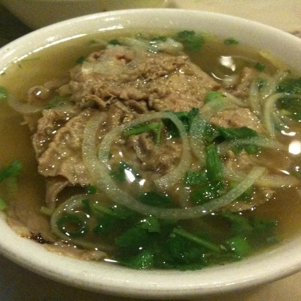 Beef Pho @ Pho Bang Restaurant