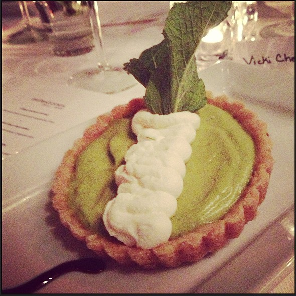 Avocado & Lime Tart @ Milestone's Empress Walk