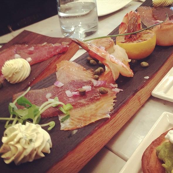 Seafood Platter @ The Artisan Baker