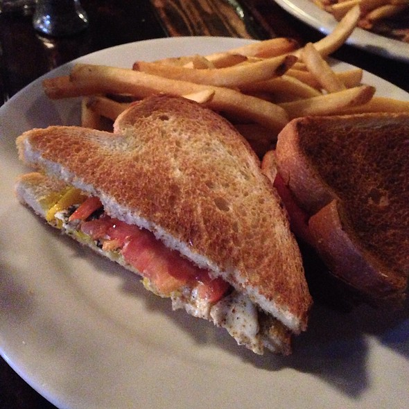 Fried Egg And Sage Sandwich @ Martin City Brewing Co