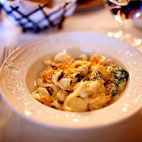 Forged Mushroom Orecchiette Pasta - Bedford Village Inn, Bedford, NH