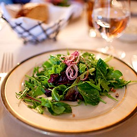 Gathered Field Greens Salad - Bedford Village Inn, Bedford, NH