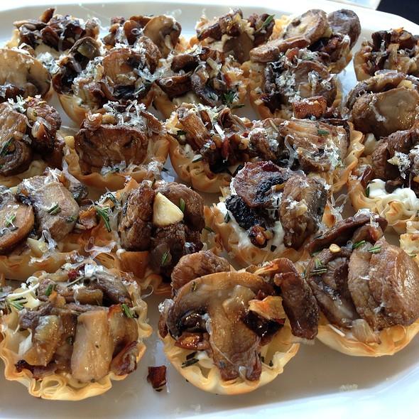 Mushroom Crostini Array
