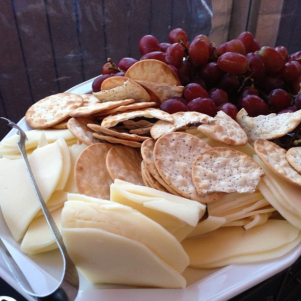 Cheese, Crackers & Grapes