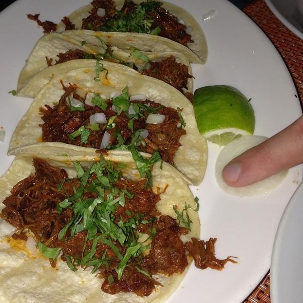 Taco De Barbacoa - Braised Lamb In Beer & Avocado Leaf @ Café Frida