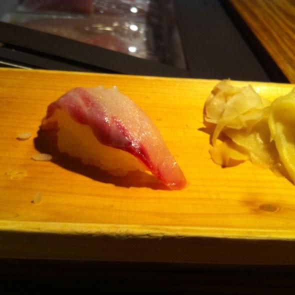 Isake (a Type Of Snapper) Sushi ( Omakase) @ Ushiwakamaru