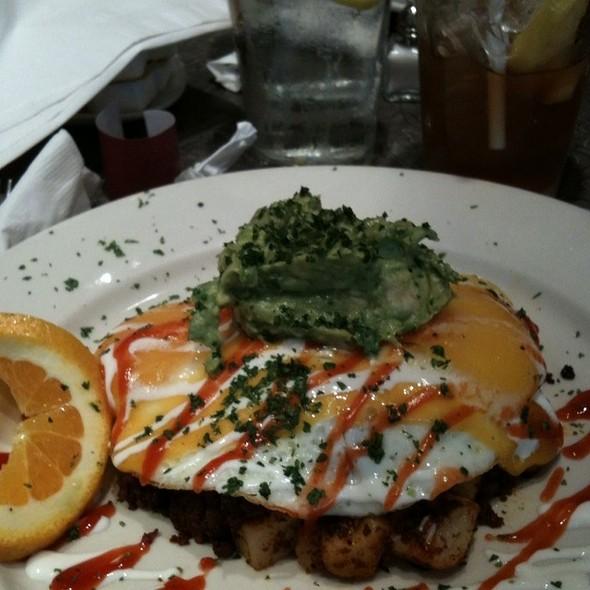 sassy eggs @ Over Easy Cafe