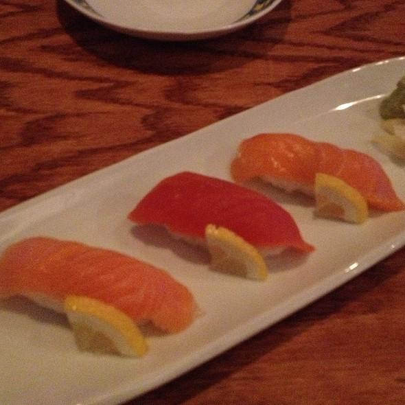 Triple Salmon Sushi