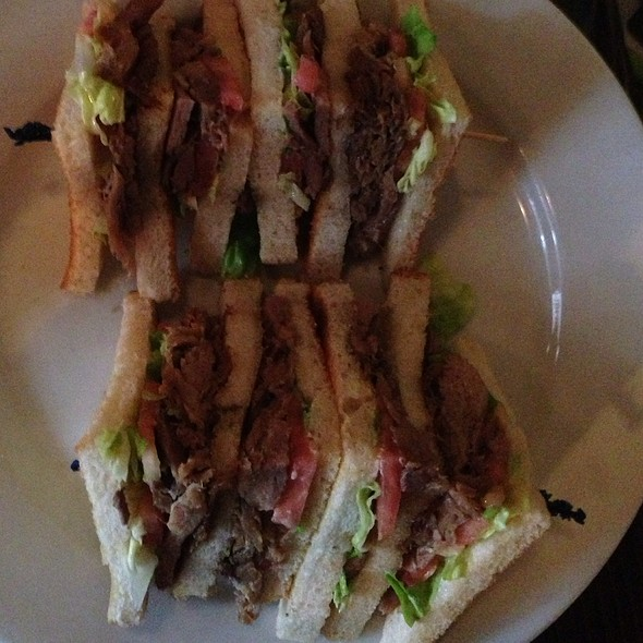 Duck Confit Club Sandwich - Capdeville, New Orleans, LA