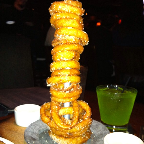 Tower Of Onion Rings