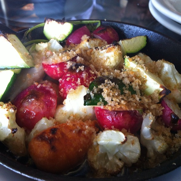 Fire Roasted Veggies - The Forge, Oakland, CA