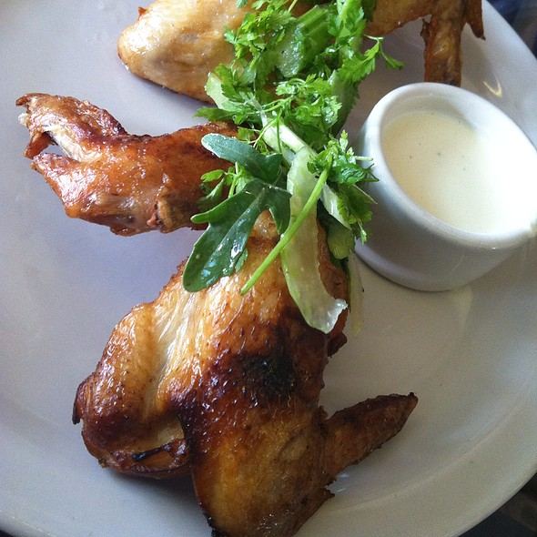 Smoked Chicken Wings - The Forge, Oakland, CA
