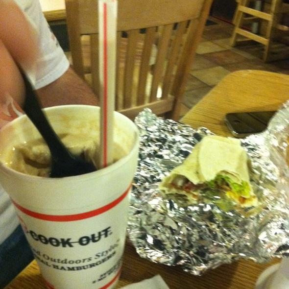 Bacon Wrap @ Cookout