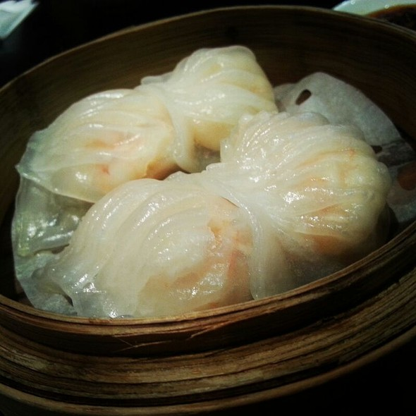 Steamed Prawn Dumplings @ Crystal Jade Kitchen (Clementi Mall)